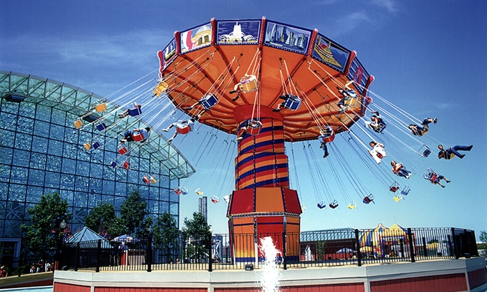 Navy Pier - Amazing Chicago's Funhouse Maze at Navy Pier: $12 for Two Rides for Two People at Navy Pier ($24 Value)