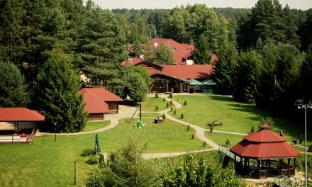 Podlasie: 1-5 nocy dla 2 lub 3 osób bądź dla rodziny z wyżywieniem i więcej w ośrodku Bobrowa Dolina