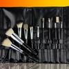 Beaute Basics 10-Piece Italian Badger Brush Set