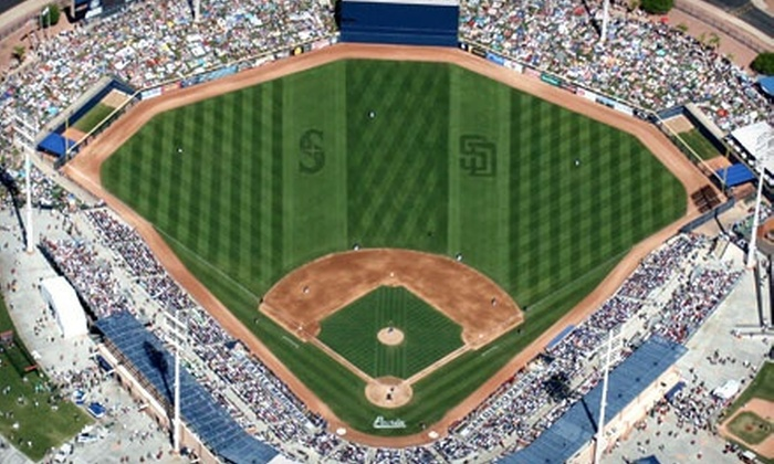 San Diego Padres vs. Seattle Mariners - Peoria: San Diego Padres and Seattle Mariners Spring-Training Game at Peoria Sports Complex on Friday, February 22 (Half Off)
