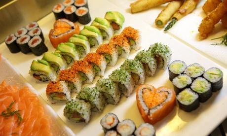 Menú de sushi para 2 personas a elegir entre 22, 36 o 48 unidades en Sushimore Alcorcón