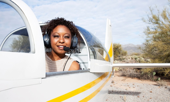Crosswinds Flight School - Monroe: In-Air Flight Lesson for One at Crosswinds Flight School (60% Off). Four Options Available.