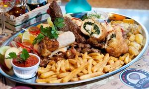 El Globo Restaurant & Pub: Podróże kulinarne: soczyste mięsa, ryby i więcej dla 2 osób za 69 zł i więcej opcji w El Globo Restaurant & Pub