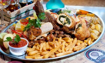 Podróże kulinarne: soczyste mięsa, ryby i więcej dla 2 osób za 69 zł i więcej opcji w El Globo Restaurant & Pub