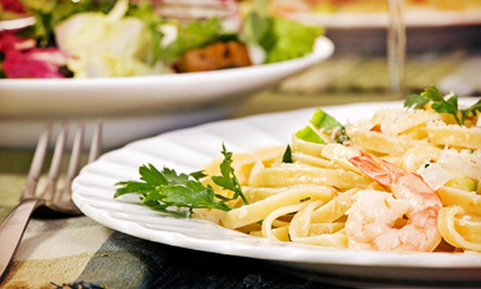 Burke's Lakeside Restaurant and Bar - Summit: Regional American Food and Drinks for Two or Four or More at Burke's Lakeside Restaurant and Bar (Half Off)