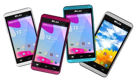 BLU Dash Music 4.0 Android Dual-SIM Smartphone (GSM Unlocked)