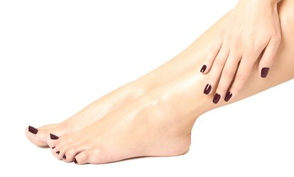 image for Classic or Gel Mani-Pedi or Gel Manicure at Salon Express <strong>Spa</strong> (Up to 45% Off)