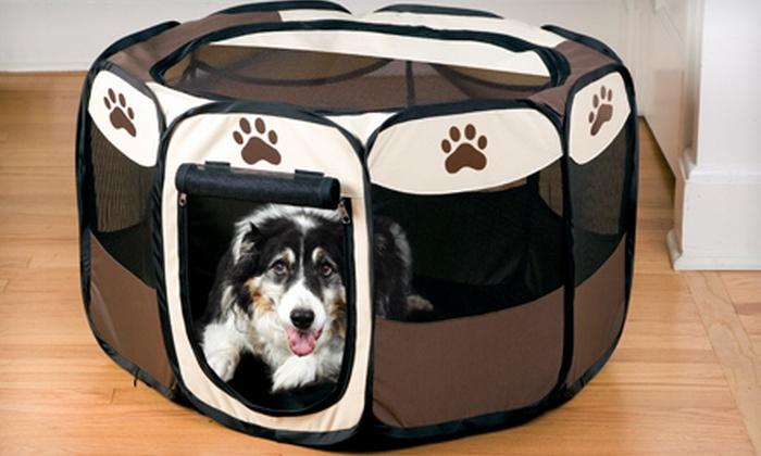 Large Portable Pet Playpen: Large Portable Pet Playpen ...