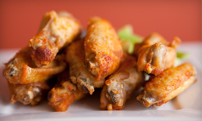 Brock's Wings & Things - North Philadelphia,Avenue of the Arts,Poplar: $12 for $25 Worth of Wings, Sliders, and Seafood or 100-Wing Family Pack at Brock's Wings & Things