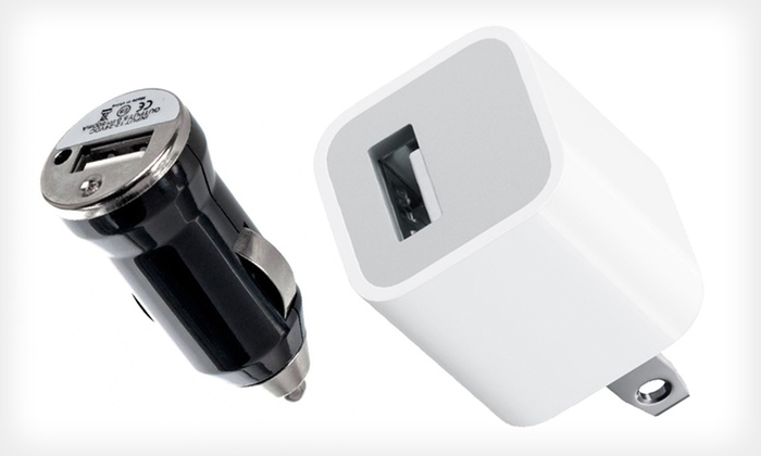 Rapid USB Car and Home Charger: Rapid USB Car and Home Charger in Black or White. Free Returns.