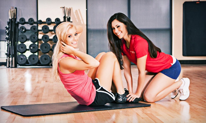 Fitness First Health Clubs - Multiple Locations: Gym Package with 30-Day Membership and Option for Personal Training at Fitness First Health Clubs (Up to 65% Off)