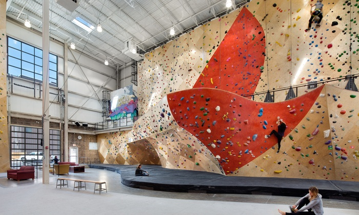Brooklyn Boulders - Chicago - Chicago: Rock-Climbing Day Pass with Gear Rental or Two-Hour Learn the Ropes Class at Brooklyn Boulders (Up to 51% Off)