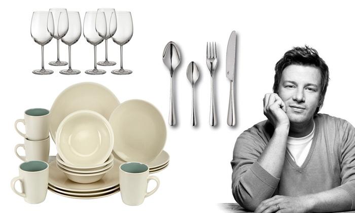 Groupon Goods Global GmbH Jamie Oliver Dinnerware Set from \u20ac24.99 (Up to 65 ...  sc 1 st  Groupon & Jamie Oliver Dinnerware Set   Groupon Goods