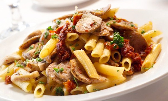 Bella Pasta - Fresno: Italian Dinner or Lunch at Bella Pasta (Up to Half Off). Five Options Available.