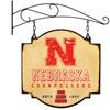 NCAA Nebraska Cornhuskers Indoor/Outdoor Metal Tavern Sign