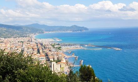 Ligurië: tweepersoonskamer met ontbijt of halfpension in Hotel San Pietro voor 2 personen