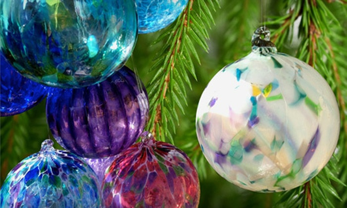 Blown Glass by Shannon Jane Morgan - North City Farms: $59 for an Ornament-Making Class for One at Blown Glass by Shannon Jane Morgan ($125 Value)