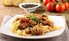 Lunch italien en 2 services au choix