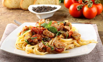 Pasta Dinner with Appetizer and Drinks for Two or Four at Pagano's Pizzeria Ormond Beach (Up to 38% Off)
