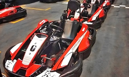 $9.99 for One Go-Kart Race at Indoor Kart Racing @ TBC (Up to $20 Value)