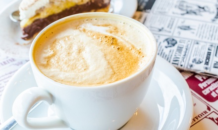 $12 for Five Groupons, Each Good for One Flavored Latte at Terra Java Coffee House ($20 Value)