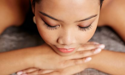 C$122 for a <strong>Spa</strong> Package with Massage, Facial, Eye Treatment, and Foot Massage (C$277 Value)