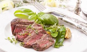 Osteria Alla Quercia: Menu di carne con antipasti, tris di tagliate da 900 grammi, dolce e vino (sconto fino a 63%)