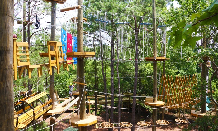 Shallotte River Swamp Park - Shallotte: Aerial Adventure for One, Two, or Four at Shallotte River Swamp Park (Up to 55% Off)