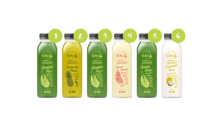 Galit Juices: One or Two Three-Day Juice Cleanses from Galit Juices (Up to 53% Off)