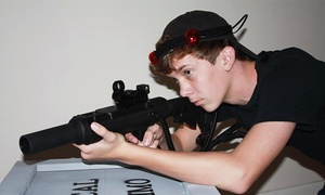 CQ Tactical Laser Tag: 90-Minute Laser-Tag Session for Two or Four People at CQ Tactical Laser Tag (Up to 50% Off)