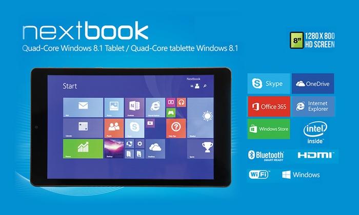 NextBook Tablet with Windows   Groupon