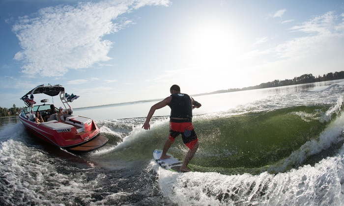 WakeBoard Clinic - Fenton: $75 for a Private One-Hour Wakeboarding Lesson for Up to Two from Wakeboard Clinic ($150Value)
