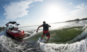 WakeBoard Clinic: $75 for a Private One-Hour Wakeboarding Lesson for Up to Two from Wakeboard Clinic ($150Value)