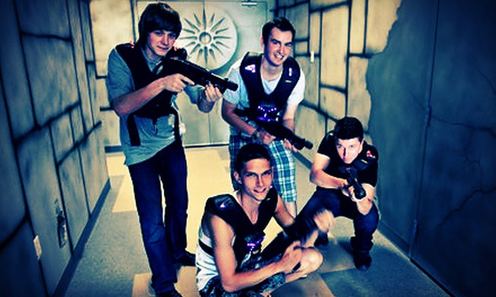 Alpha Strike Laser Tag - Dartmouth: One or Two Games of Laser Tag for Up to Four at Alpha Strike Laser Tag (Half Off)