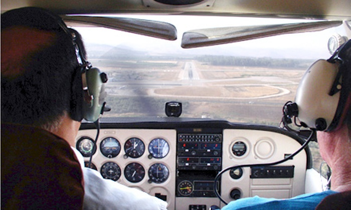 Desert Spirits Aviation - Marana: Discovery Flight-Lesson Package for One or Two at Desert Spirits Aviation (Up to 51% Off)