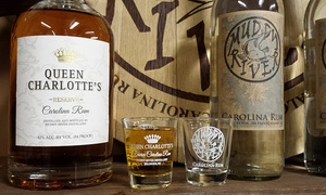 Muddy River Distillery: Distillery Tour for 2 or 4, Including Rum Tasting and Shot Glasses at Muddy River Distillery (Up to 60% Off)