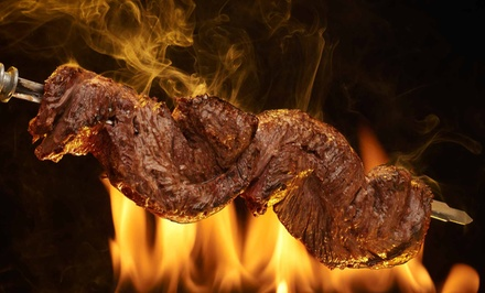 Brazilian Steak-House Dinner for Two or Four at Rodizio Grill Las Colinas (Up to 37% Off)
