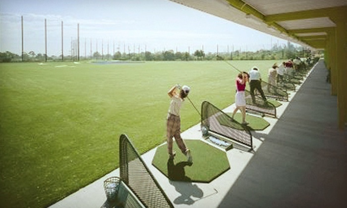 Harbor Golf Practice Center - Wilmington,Harbor City: 2 or 4 Large Buckets or $100 Worth of Driving-Range Balls at Harbor Golf Practice Center in Wilmington (Up to 51% Off)