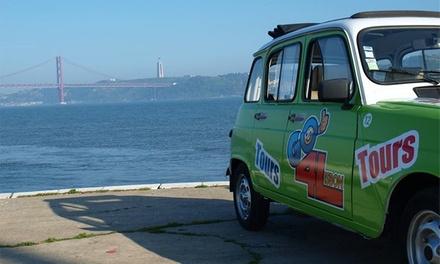 Go4Lisbon — Baixa: passeio por Lisboa em Renault 4L para até quatro pessoas desde 22,90€