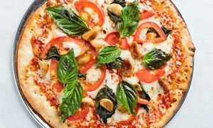 Pizza Artista: Pizza, Drinks, and Dessert at Pizza Artista (Up to 45% Off). Two Options Available.