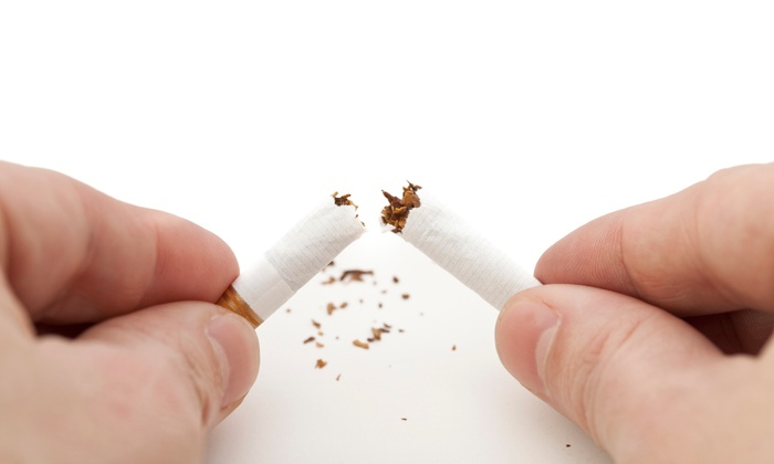 Omega Laser - Multiple Locations: C$149 for Three Laser Smoking-Cessation Treatments at Omega Laser (C$300 Value)