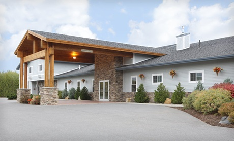 Stay with Optional Fall Package at Best Western Plus Ticonderoga Inn & Suites in New York. Dates into December.