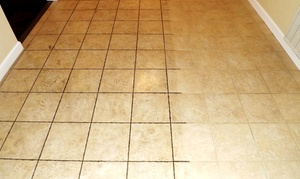 Apex Carpet Solutions: $149 for Tile and Grout Cleaning for Up to 300 Square Feet from Apex Carpet Solutions ($274 Value)