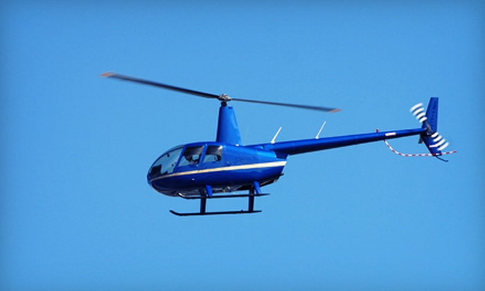 Midwestern Helicopter - Multiple Locations: Helicopter Tours Over Chicago, Lake Geneva, or Milwaukee Area for One or Two from Midwestern Helicopter (Up to 52% Off)