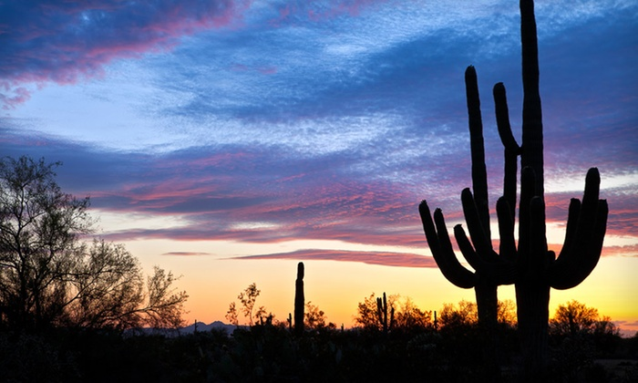 Arizona Desert Mountain Jeep Tours - Tonto National Forest: Two-Hour Sunset Jeep Tour for One, Two, or Four from Arizona Desert Mountain Jeep Tours (Up to 53% Off)