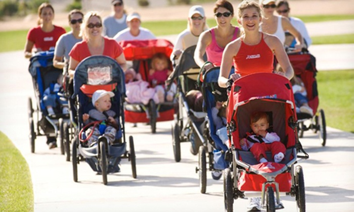 Stroller Strides - Mc Kinney: 5 or 10 Classes at Stroller Strides (Up to 65% Off)