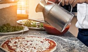 Ristorante Liberty: Menu pizza a scelta più antipasto e dolce per 2 o 4 persone al ristorante Liberty, Rimini centro (sconto fino a 63%)