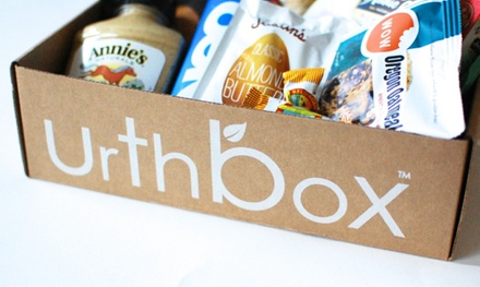 Delivery of a Small, Medium, or Large Box of Healthy Snacks for One Month from UrthBox (41% Off)