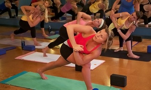 Inner Fire Yoga: One Introductory Month of Unlimited Yoga Classes at Inner Fire Yoga (Up to 47% Off)