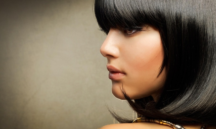 Vallyn Hair - Located inside of Sola Salons, Unit 111: $35  for a Women's Haircut with Conditioning Treatment at Vallyn Hair (56% Off)